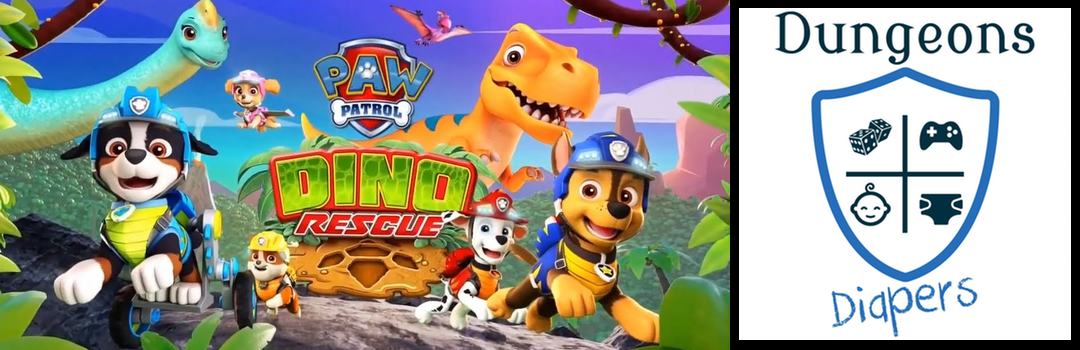 D&D Mini – Paw Patrol Dino Rescue Review